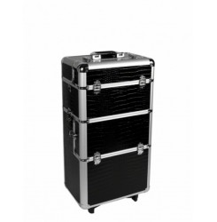 Trolley bag for makeup / nails 3 piece