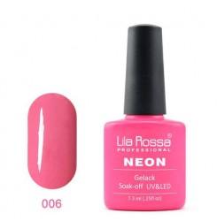 UV\LED Гел-лак Lila Rossa NEON 7,3ml LRN 06