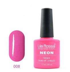 UV\LED Гел-лак Lila Rossa NEON 7,3ml LRN 08