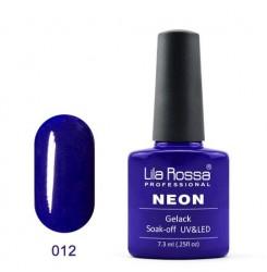 UV\LED Гел-лак Lila Rossa NEON 7,3ml LRN 12