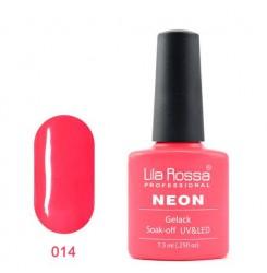 UV\LED Гел-лак Lila Rossa NEON 7,3ml LRN 14
