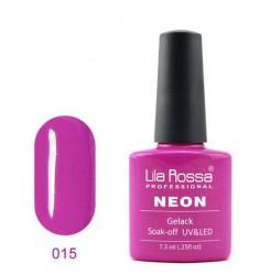 UV\LED Гел-лак Lila Rossa NEON 7,3ml LRN 15