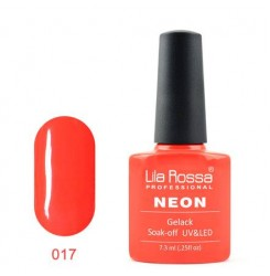 UV\LED Гел-лак Lila Rossa NEON 7,3ml LRN 17