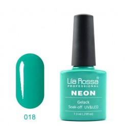 UV\LED Гел-лак Lila Rossa NEON 7,3ml LRN 18
