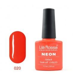 UV\LED Гел-лак Lila Rossa NEON 7,3ml LRN 20