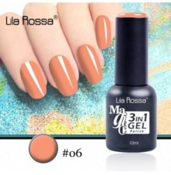 ГЕЛ ЛАК LILA ROSSA MAGIC - 3 in 1 Gel No. 06