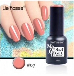 ГЕЛ ЛАК LILA ROSSA MAGIC - 3 in 1 Gel No. 07