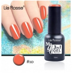 ГЕЛ ЛАК LILA ROSSA MAGIC - 3 in 1 Gel No. 10