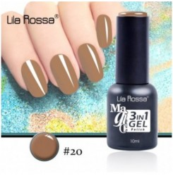 ГЕЛ ЛАК LILA ROSSA MAGIC - 3 in 1 Gel No. 20