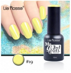 ГЕЛ ЛАК LILA ROSSA MAGIC - 3 in 1 Gel No. 19