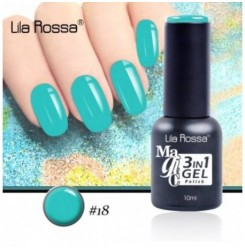 ГЕЛ ЛАК LILA ROSSA MAGIC - 3 in 1 Gel No. 18