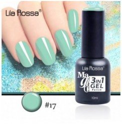 ГЕЛ ЛАК LILA ROSSA MAGIC - 3 in 1 Gel No. 17