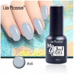 ГЕЛ ЛАК LILA ROSSA MAGIC - 3 in 1 Gel No. 16