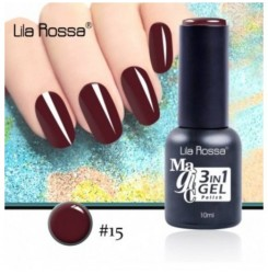 ГЕЛ ЛАК LILA ROSSA MAGIC - 3 in 1 Gel No. 15