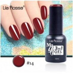 ГЕЛ ЛАК LILA ROSSA MAGIC - 3 in 1 Gel No. 14