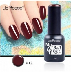 ГЕЛ ЛАК LILA ROSSA MAGIC - 3 in 1 Gel No. 13