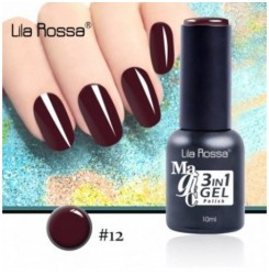 ГЕЛ ЛАК LILA ROSSA MAGIC - 3 in 1 Gel No. 12