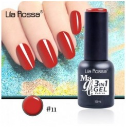 ГЕЛ ЛАК LILA ROSSA MAGIC - 3 in 1 Gel No. 11