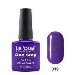 ГЕЛ ЛАК LILA ROSSA - ONE STEP 019