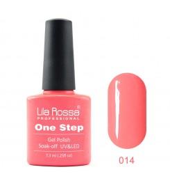 ГЕЛ ЛАК LILA ROSSA - ONE STEP 014