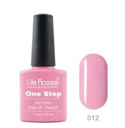 ГЕЛ ЛАК LILA ROSSA - ONE STEP 012