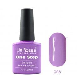 ГЕЛ ЛАК LILA ROSSA - ONE STEP 006
