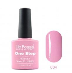 ГЕЛ ЛАК LILA ROSSA - ONE STEP 004