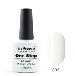 ГЕЛ ЛАК LILA ROSSA - ONE STEP 002