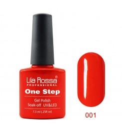 ГЕЛ ЛАК LILA ROSSA - ONE STEP 001