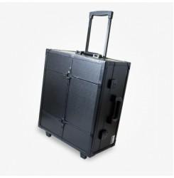 Преносимо работно място - куфар - черен цвят