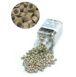 Удължаване на коса - капси със силикон - 500 бр