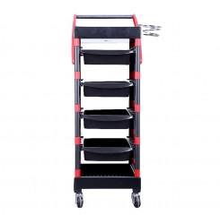 Помощна фризьорска количка с 5 чекмеджета UC7 UM523BR
